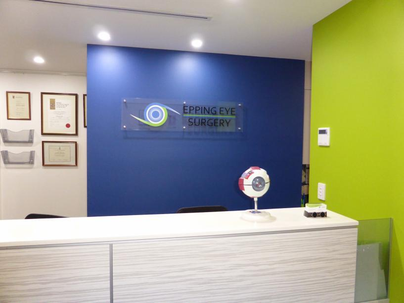 Photo of Epping Eye Surgery reception area